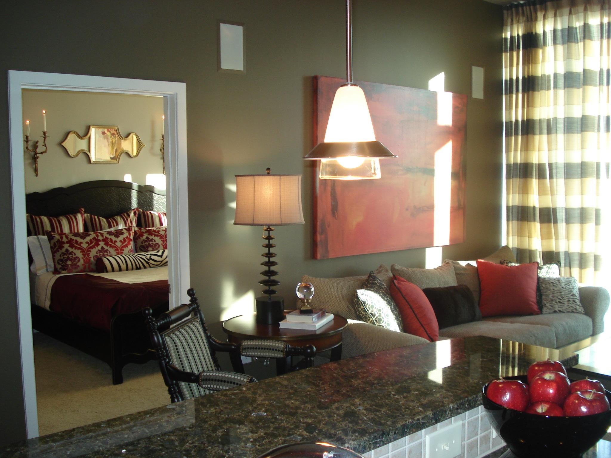 Condominium in atlanta ga interior design by cara - Registered interior designer georgia ...