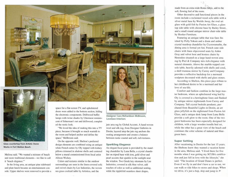 Emerald Coast Licensed Interior Designer, Cara McBroom