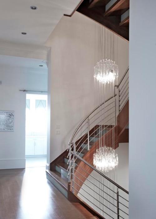 custom stairwell fixture