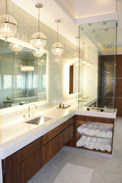 White Carrera Bathroom