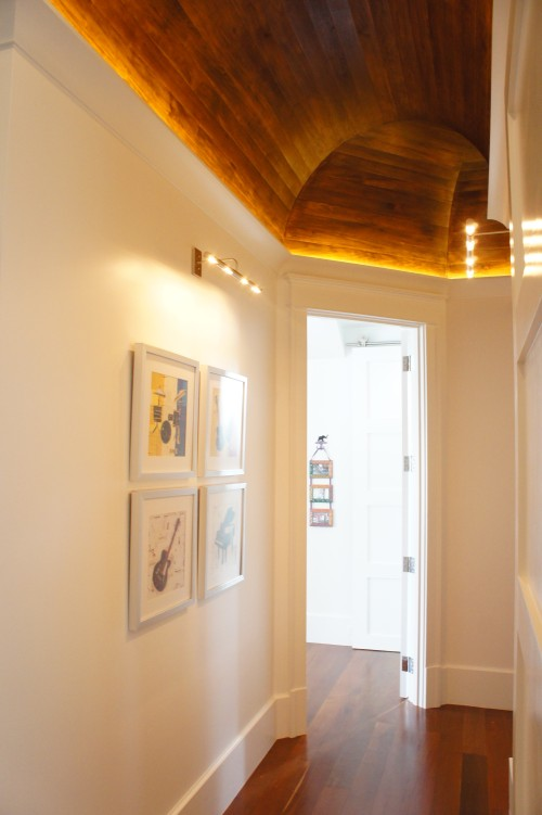 Ceiling Detail Hallway