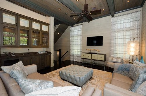 Living Room Wet Bar
