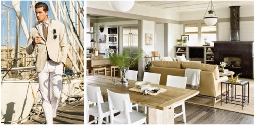 Not all BG's have to have color in their interiors!  Those that are lucky enough to live right on the water may want to leave everything neutral and natural, and let the coastal views do the talking!