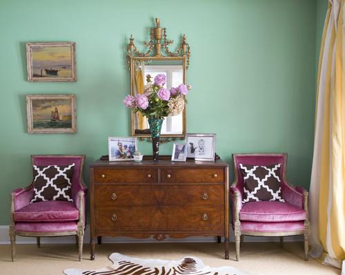 aqua & orchid room