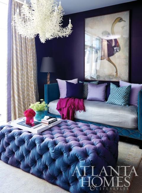 cobalt & orchid room