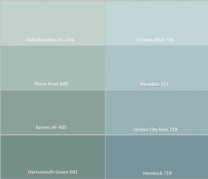 Benjamin moore palladian blue bathroom - Benjamin Moore Palladian Blue Car Interior Design