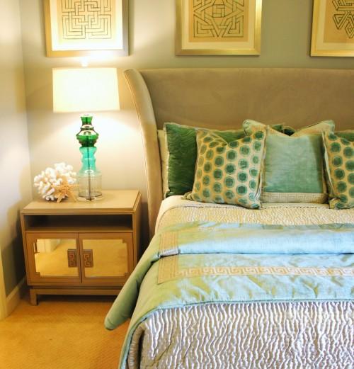Queen Bedroom Vignette