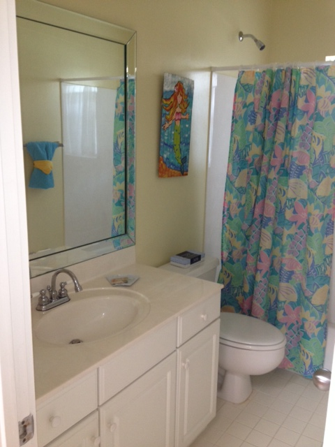 BATHROOM BEFORE: