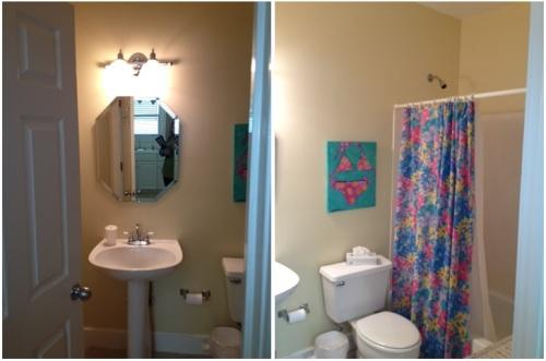 BEFORE:  A very generic bathroom.
