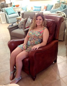 Here is my beautiful intern, Anna Laneve!