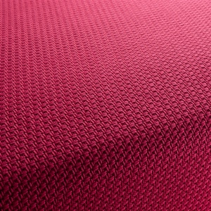 I love to mix textures, so when I found this thick, textured woven pink, I was excited.  I knew it would look great as Euro pillows, behind my linen and velvet pillows.