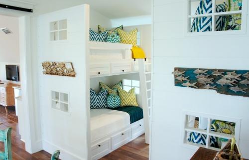 twin over twin bunks