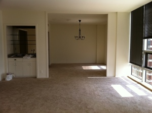 Dining Room Before: