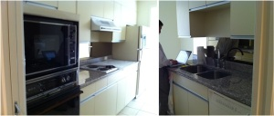 Kitchen before (opposite view)