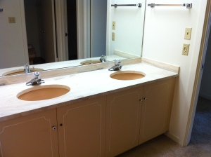 Master Bath Vantiy Before